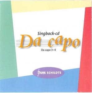 Da capo Singback-cd åk 3-4