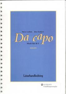 Da capo Lärarhandledning åk 5
