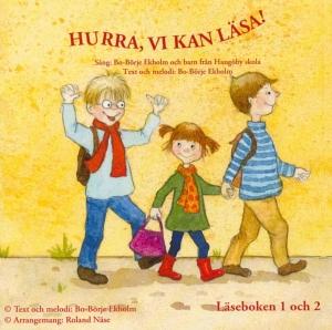 Läseboken 1 och 2 cd – Hurra vi kan läsa