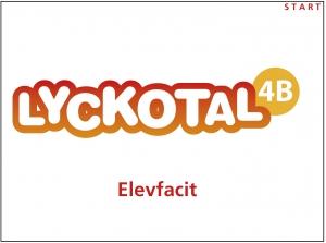 Lyckotal 4B Elevfacit