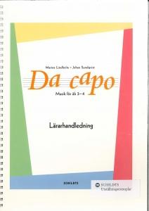 Da capo Musik för åk 3-4 Lärarhandledning