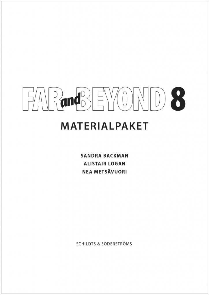 Far and Beyond 8 Materialpaket (pdf)