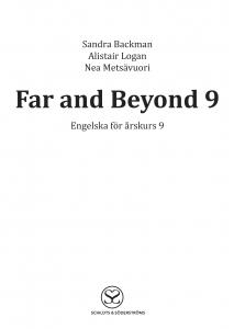Far and Beyond 9 cd