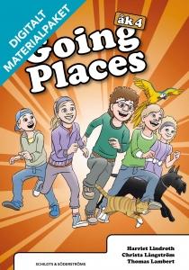 Going Places 4 Digitalt materialpaket