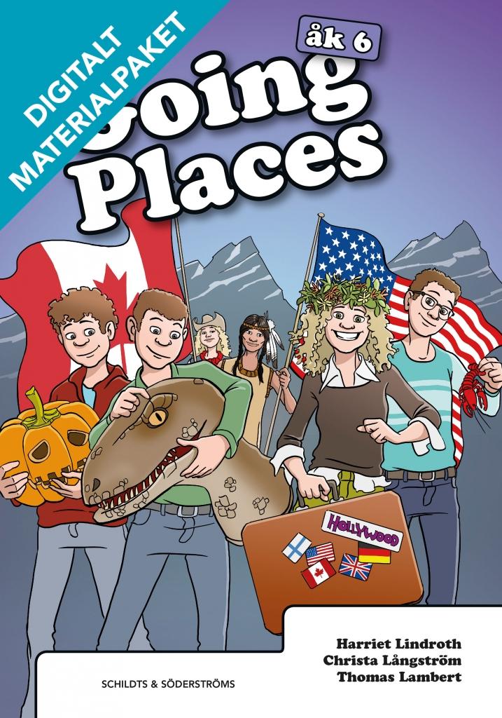 Going Places 6 Digitalt materialpaket
