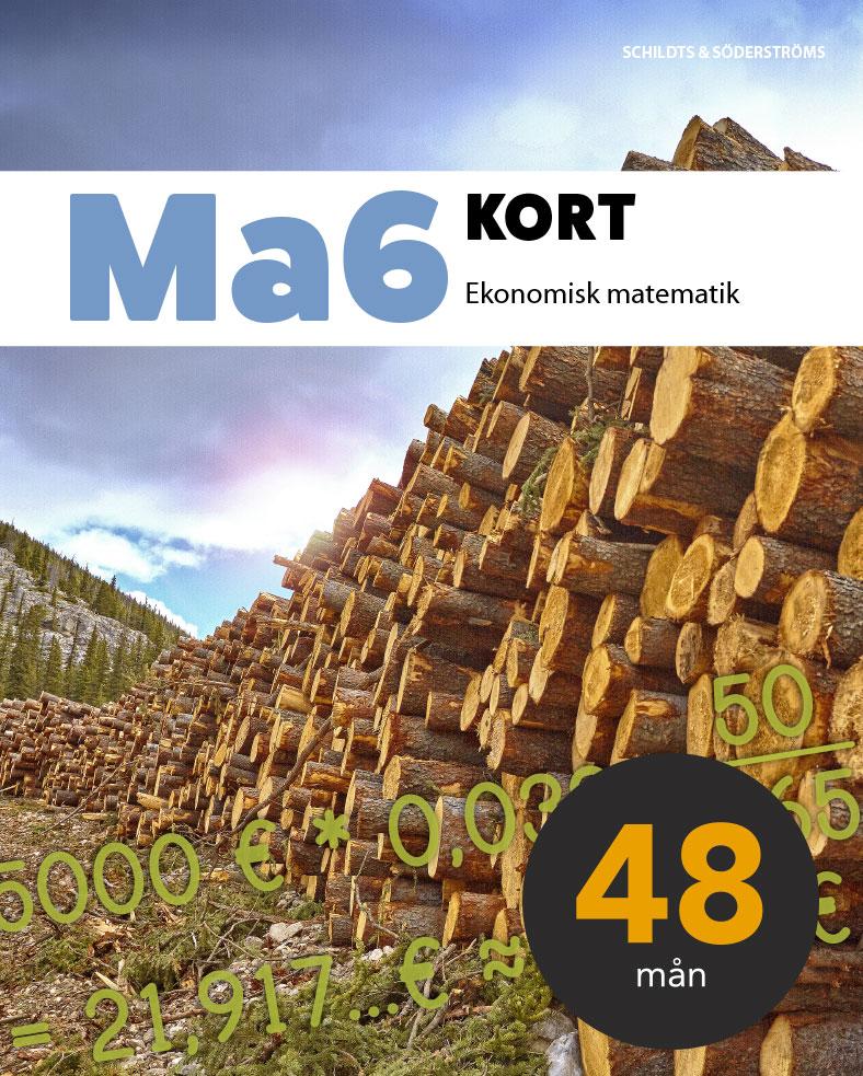 Ma6 Kort Elevlicens, 48 mån