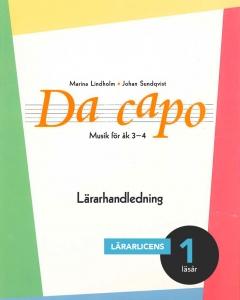 Da capo Musik för åk 3-4 Lärarhandledning (pdf)