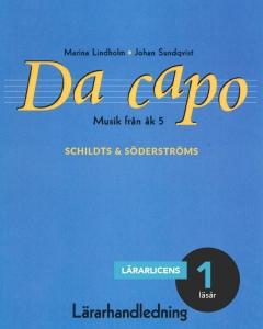 Da capo Musik för åk 5 Lärarhandledning (pdf)