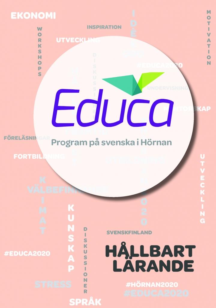 Vi finns i svenska Hörnan på Educa!