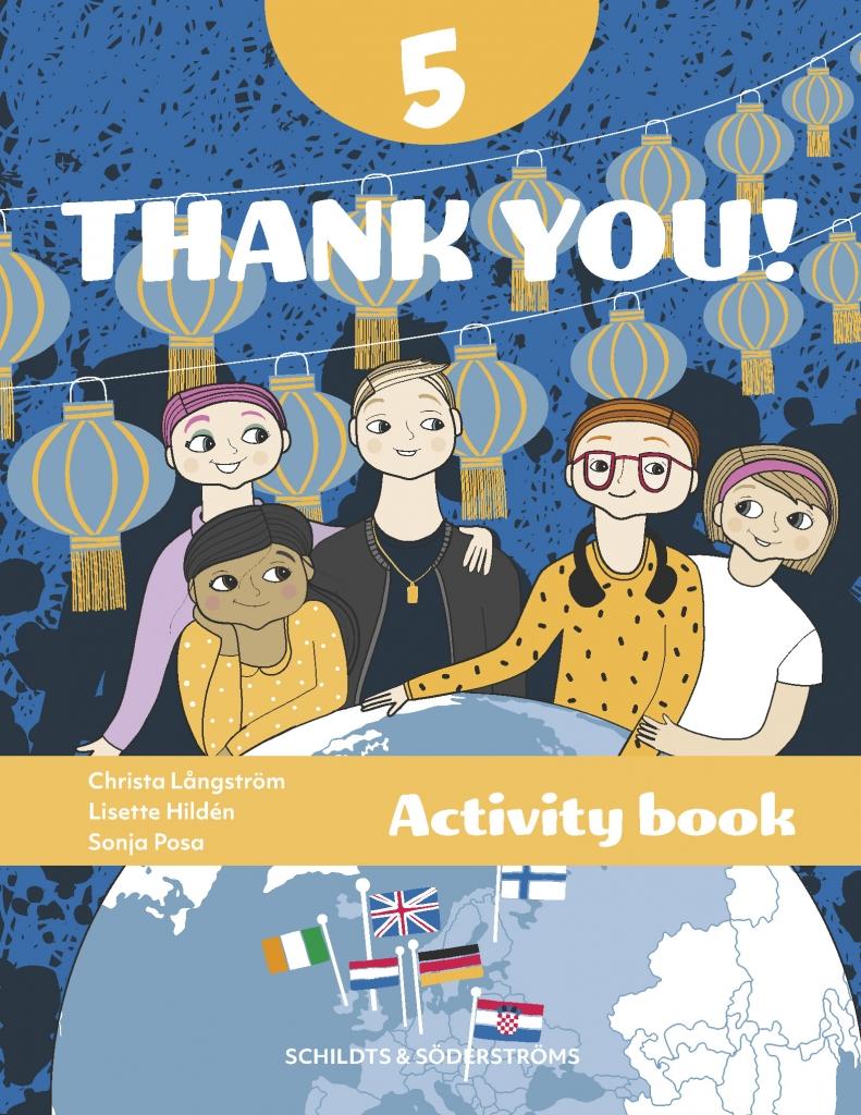Thank you! 5 Aktivitetsbok