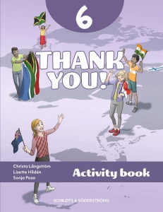 Thank you! 6 Aktivitetsbok
